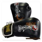Dragon Attack Kick Boks Eldiveni Siyah