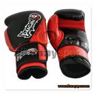 Carbon Kick Boxing Glove Black - Red